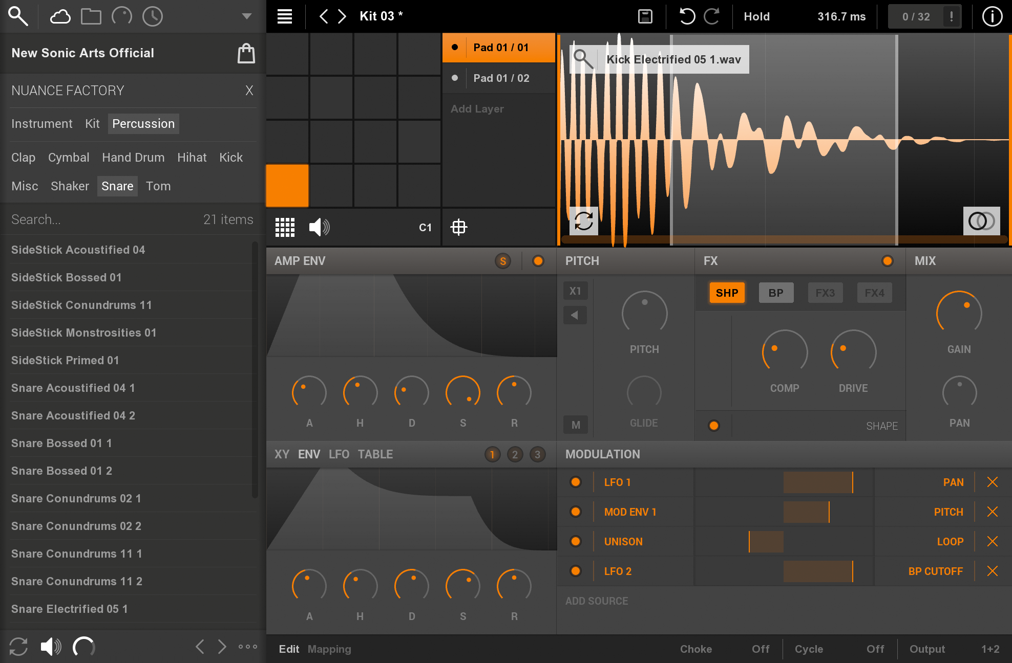 New Sonic Arts | Nuance - Sampler Instrument VST / AudioUnit